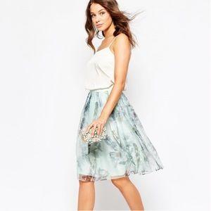 Ted Baker London Roshini torchlit floral skirt
